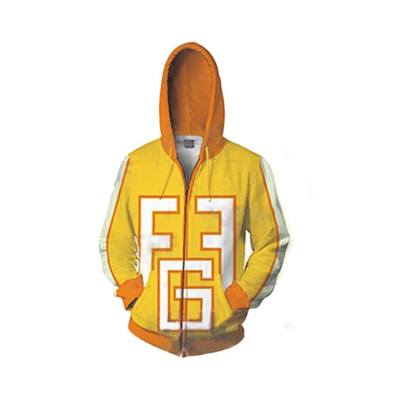 My Hero Academia Anime Cosplay Costume Sweatshirt Zip Up Hoodie CSP106