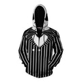 Jack Skellington The Nightmare Before Christmas Pullover Hoodie CSS109