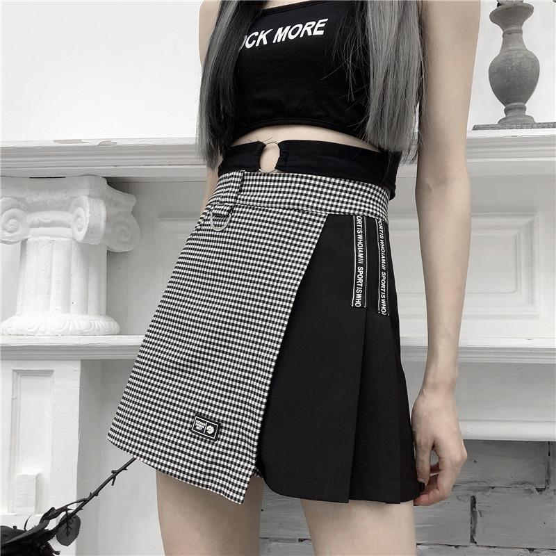Checkered Skirt Shorts SD00606