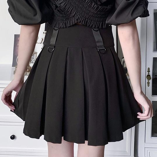 Dark Moon Pentagram Skirt SD00419