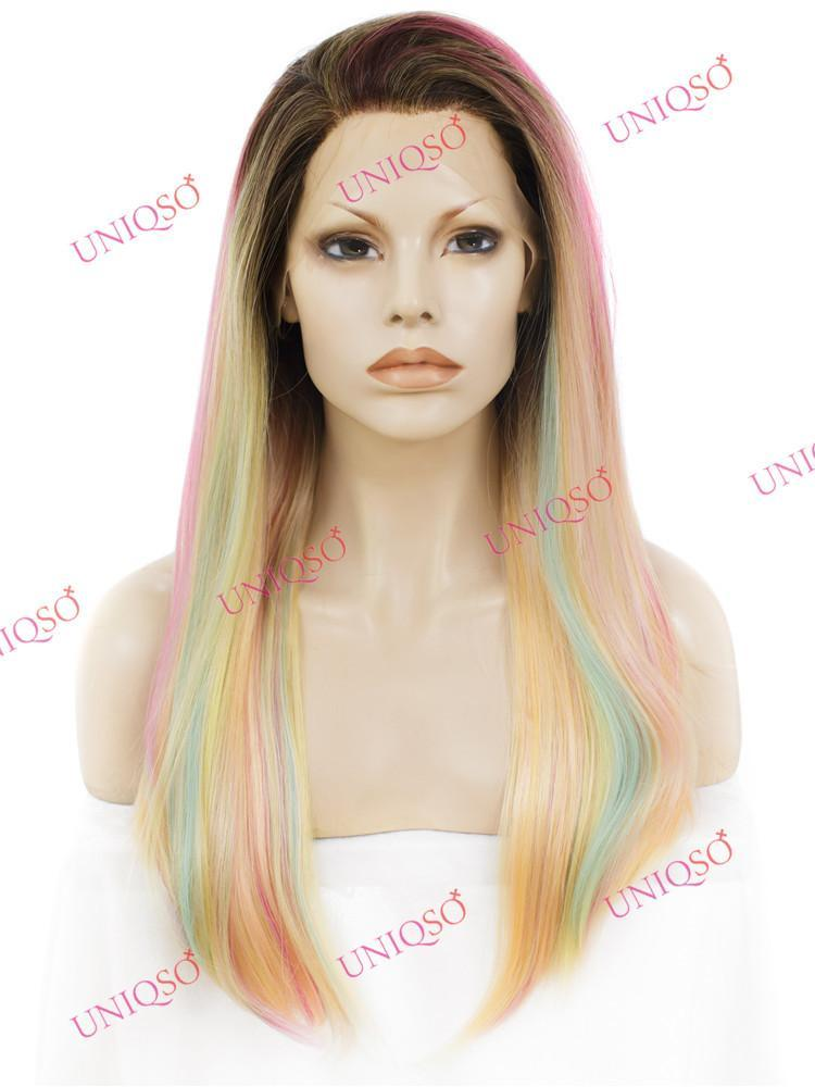 Premium Wig -  Deluxe Unicorn Lace Front Straight Wig