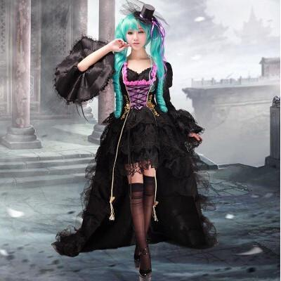 Vocaloid Miku Cosplay Dress/Costume
