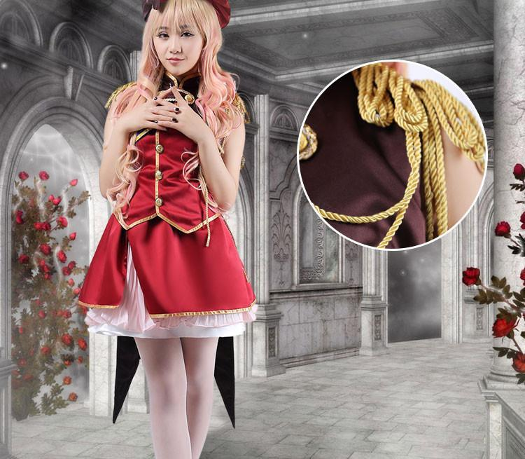 Macross Frontier Sheryl Nome Cosplay Dress/Costume