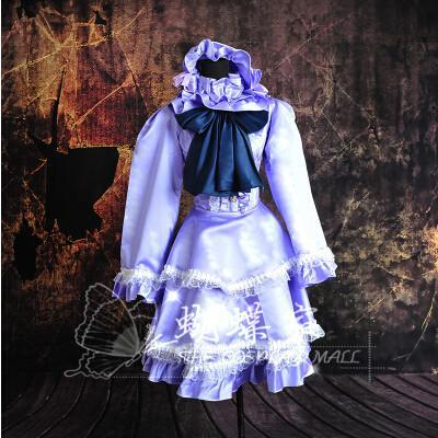 Scarlet Weather Rhapsody Patchouli Knowledge Cosplay Dress/Costume