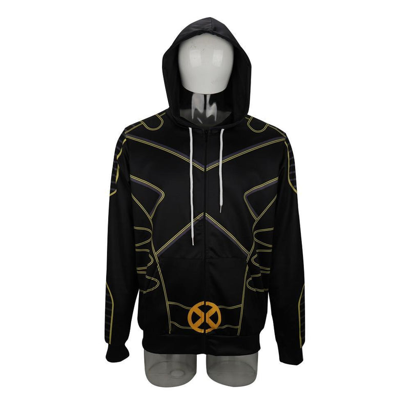 X-Men The Gifted Hoodies Cosplay Costume Men Adult Jacket Sweatershirts Man Outfit Coat DC Movies Halloween Party Prop