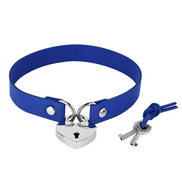 Harajuku Heart Key locker Collar SD00527