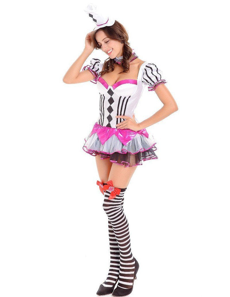 Circus Fancy Dressy Womens Adult Halloween Dance Party Costume