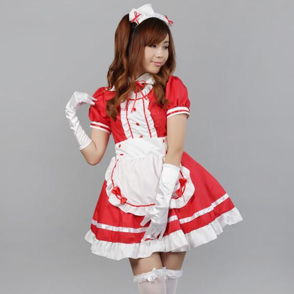 Maid Waitress Costumes - MS002