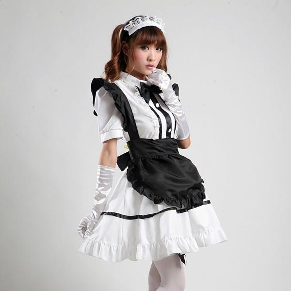 Maid Waitress Costumes - MS003