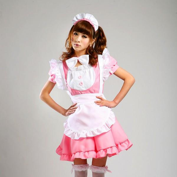 Maid Waitress Costumes - MS006