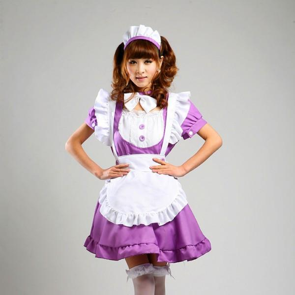 Maid Waitress Costumes - MS007