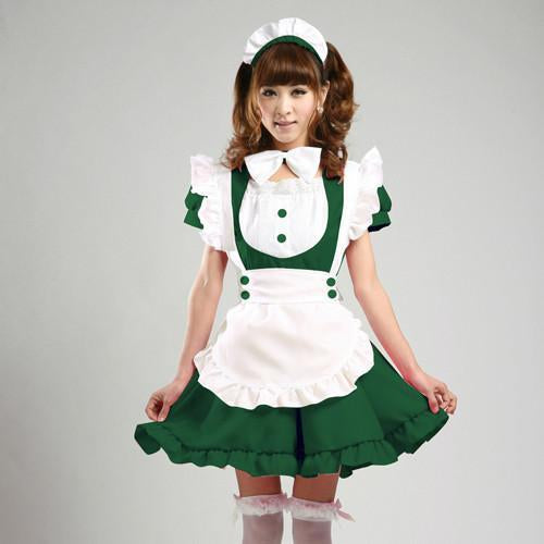 Maid Waitress Costumes - MS009