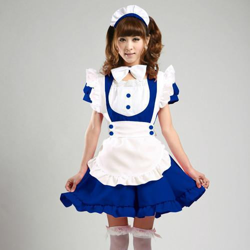 Maid Waitress Costumes - MS012