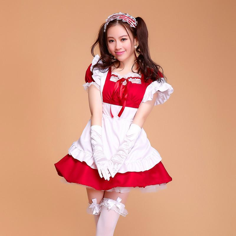 Maid Waitress Costumes - MS013