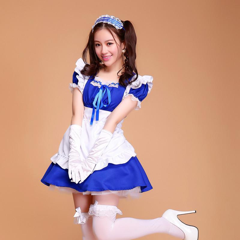 Maid Waitress Costumes - MS015