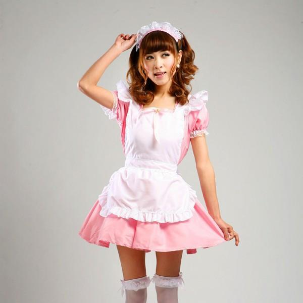 Maid Waitress Costumes - MS019