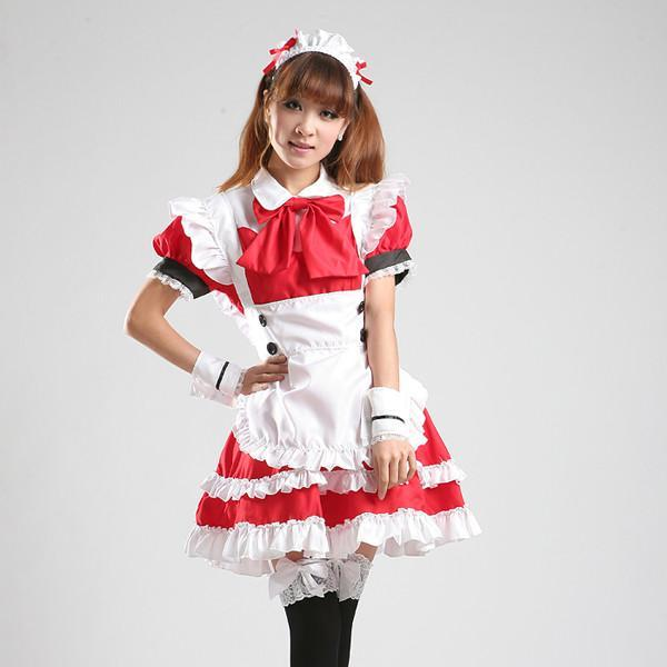 Maid Waitress Costumes - MS021