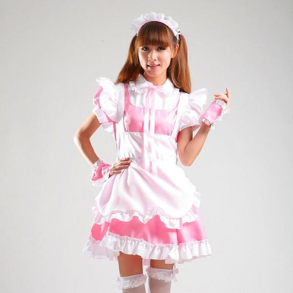 Maid Waitress Costumes - MS024