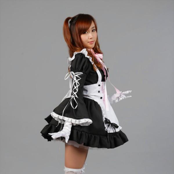 Maid Waitress Costumes - MS027