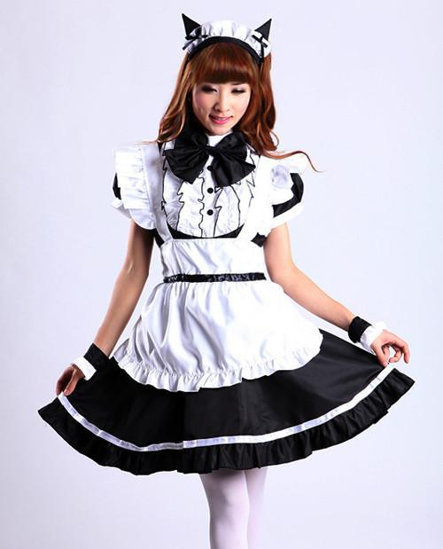 Maid Waitress Costumes - MS031