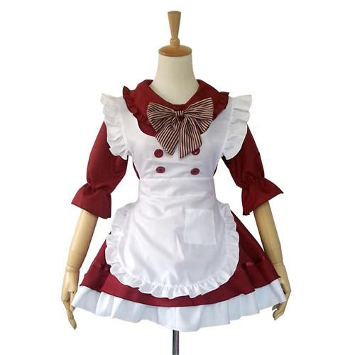 Maid Waitress Costumes - MS042