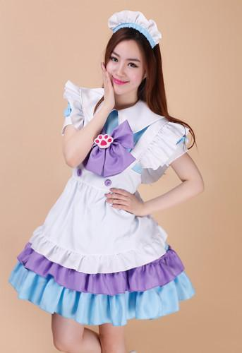 Maid Waitress Costumes - MS045