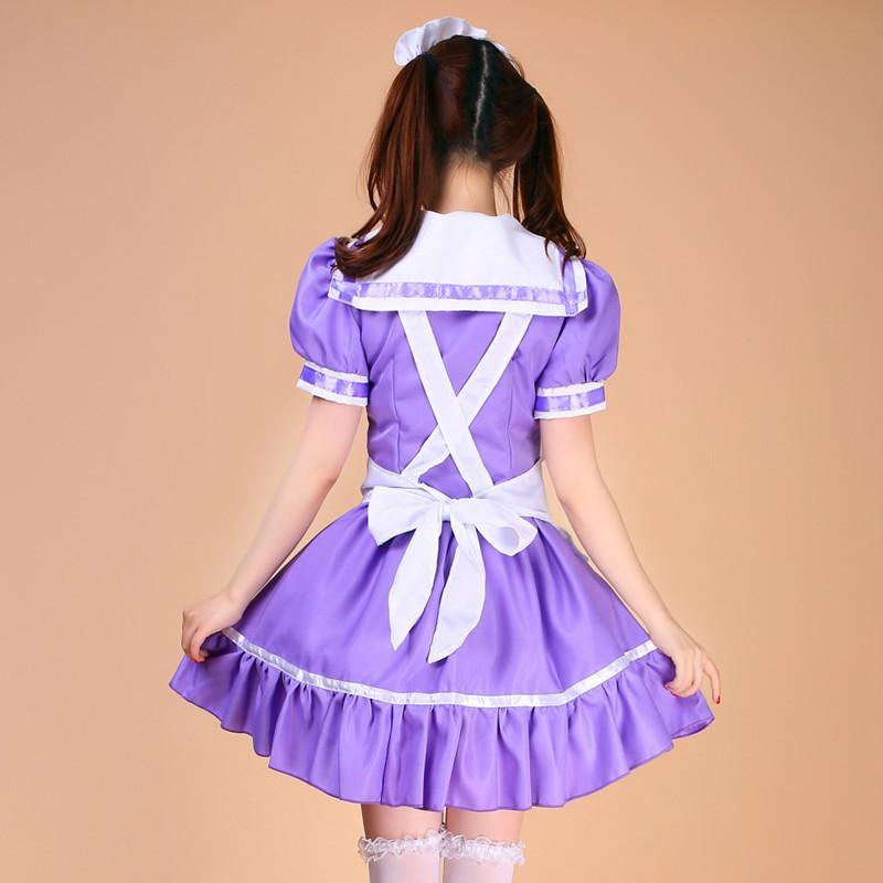 Maid Waitress Costumes - MS048