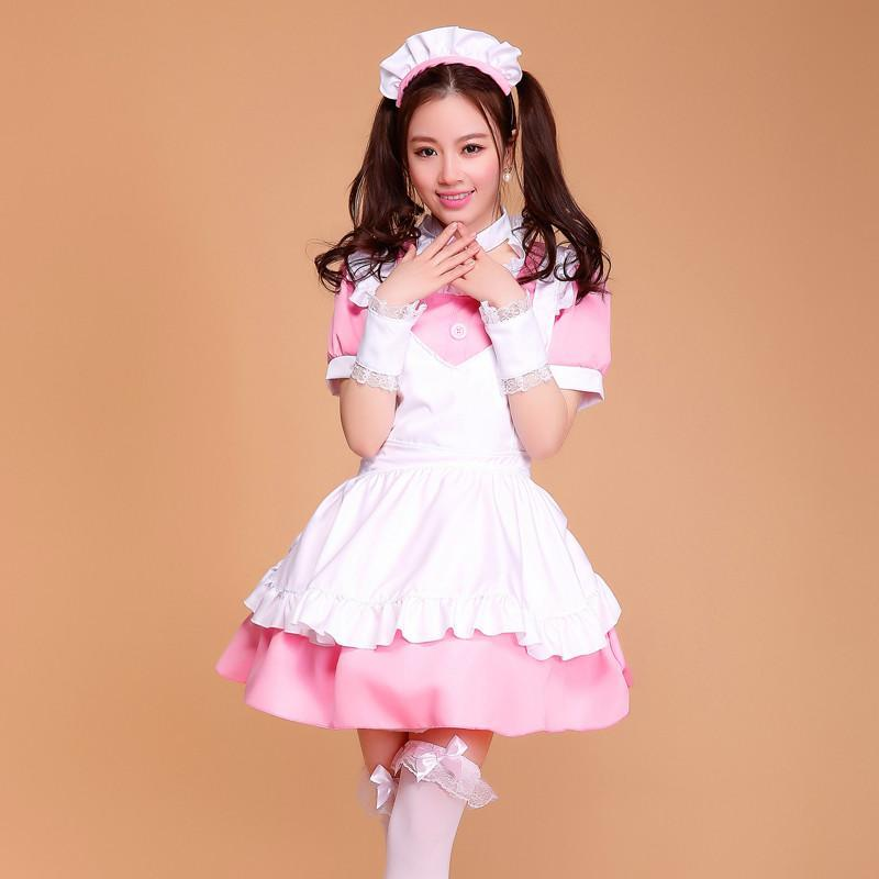 Maid Waitress Costumes - MS052