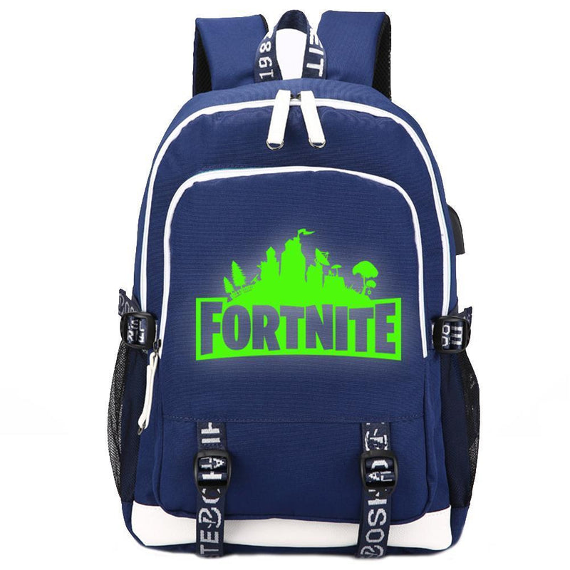 Game Fortnite Luminous USB Student Backpack CSSO086