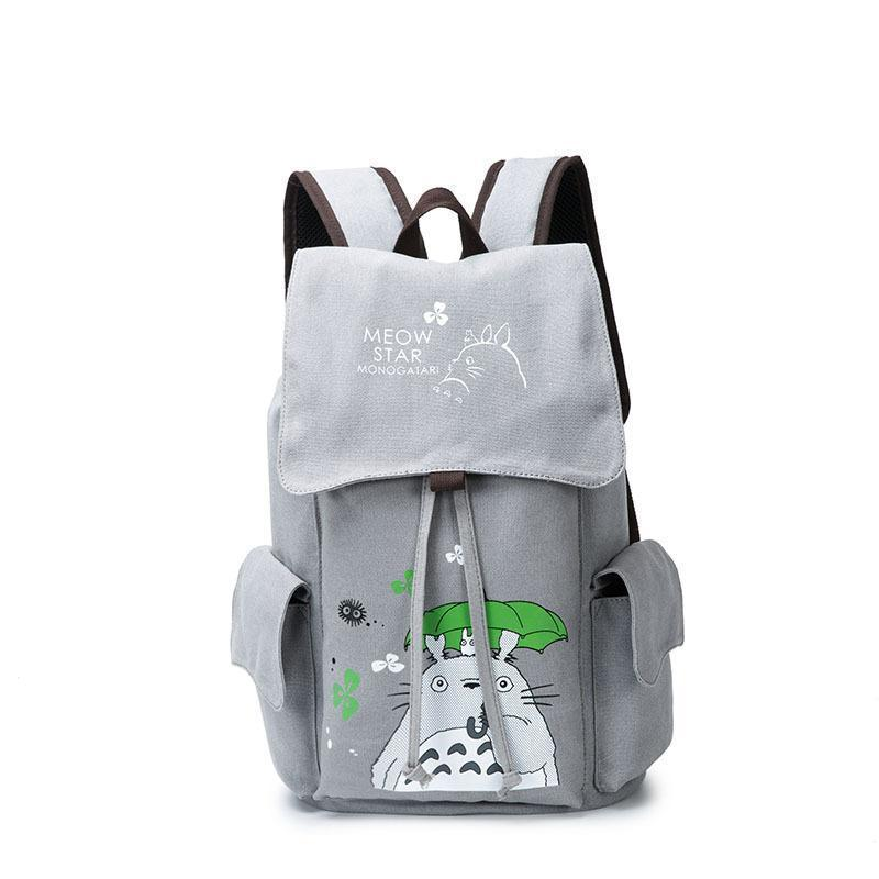 Anime Comics Totoro Drawstring Backpack CSSO075