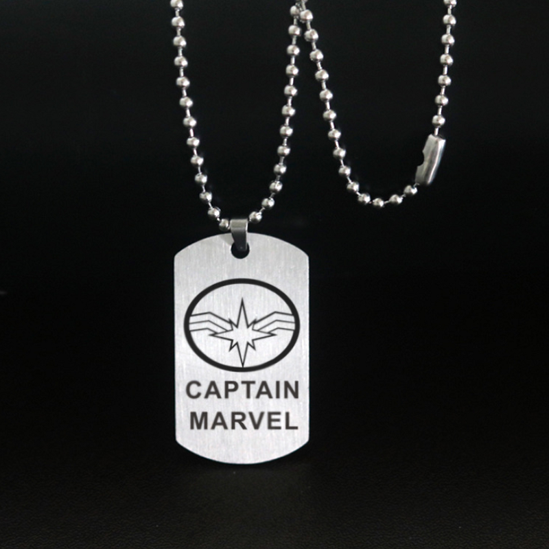 Captain Marvel Stainless Steel Necklace CSOS851