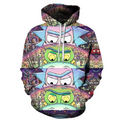 Rick and Morty Pullover Hoodie CSOS869