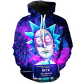 Rick and Morty Pullover Hoodie CSOS873