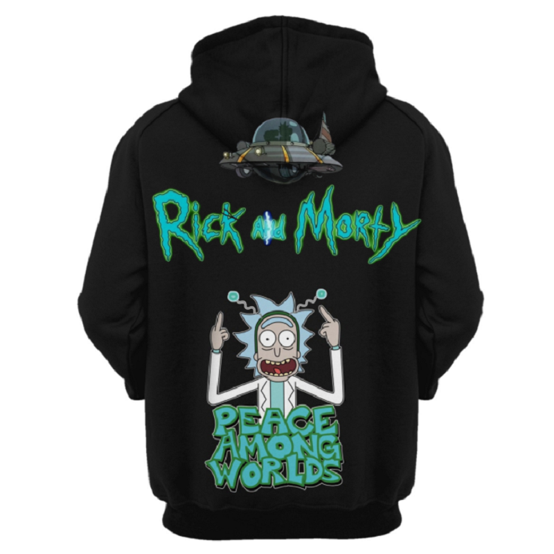 Rick and Morty Pullover Hoodie CSOS885