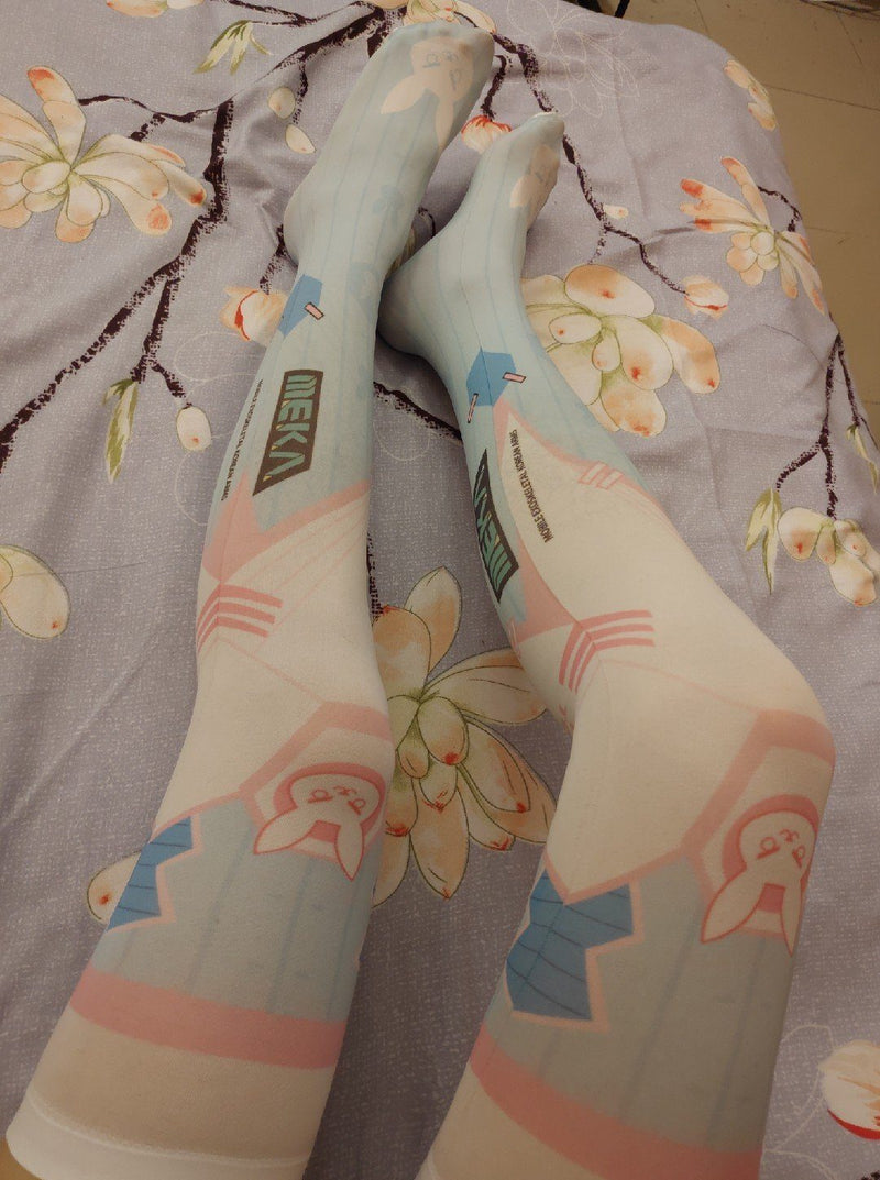 D.VA High Tights Socks SD00952