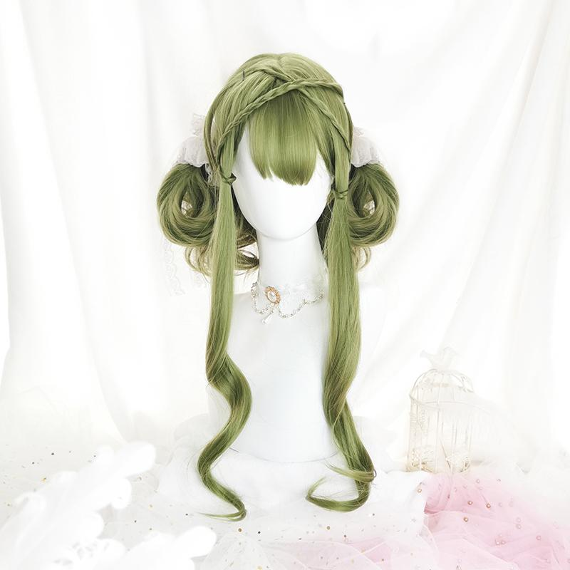 Green Curly Lolita Wig SD01060