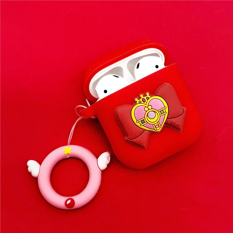 Sailor Moon Bow Pendant Airpods Case SD01530
