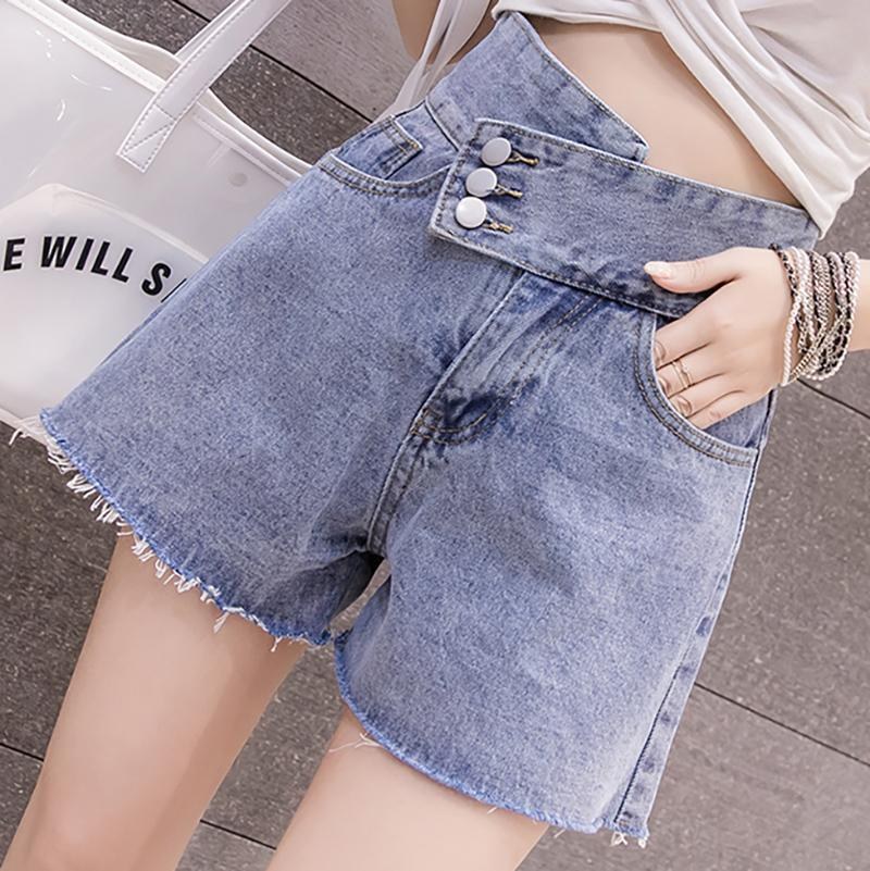 High Waist Denim Shorts SD00140