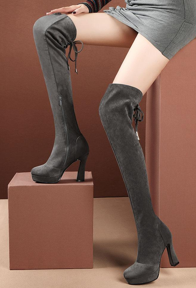 Feeling Comfortable High Knee Boots SD01707
