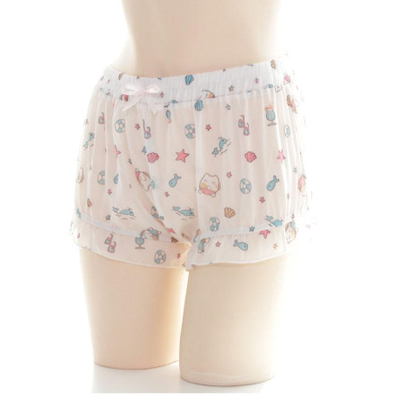 Neko Beach Chiffon Shorts SD01165
