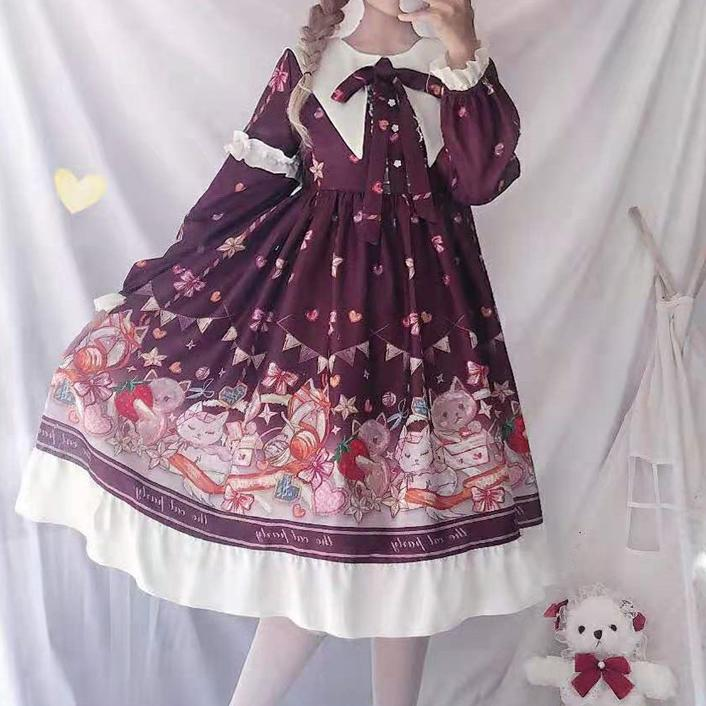 Birthday Neko Dress SD00410