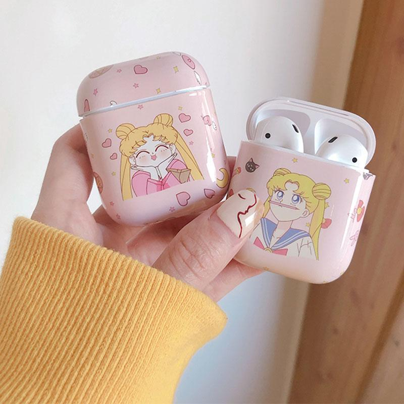 Sailor Moon Chubby Cheek Pensil Nose Airpod Case SD01333