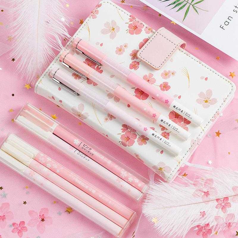 Cherry Blossom Mint Green Pencils SD01362