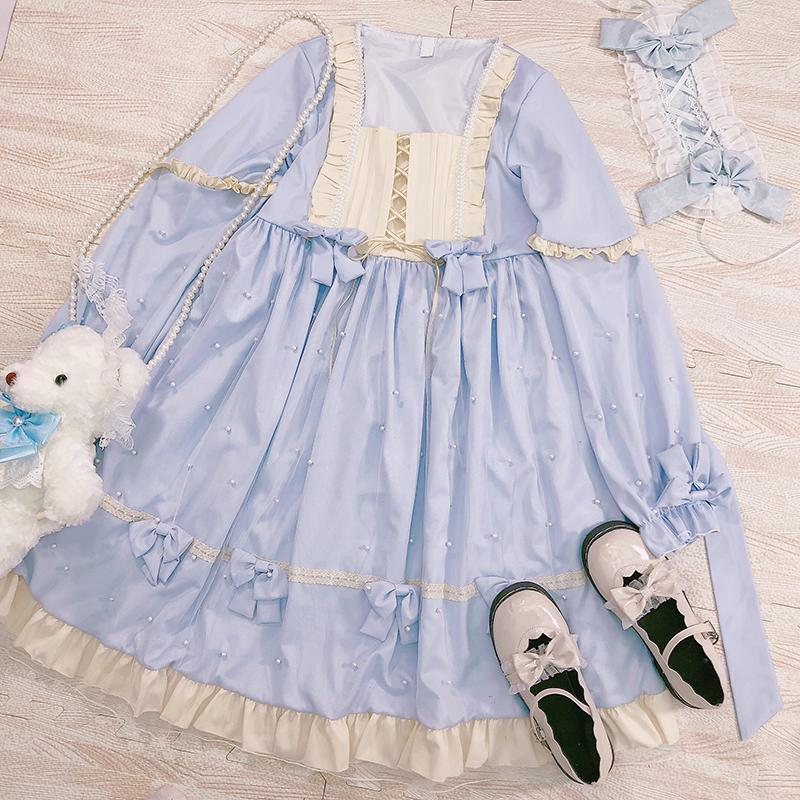 Pearl Soft Girl Dress SD00315