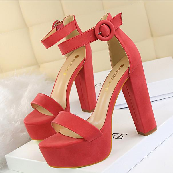 Date Night Open High Heels Sandal Shoes SD00522