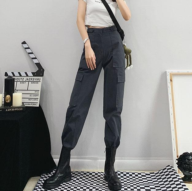 Casual Outside Pocket Pants SD02199