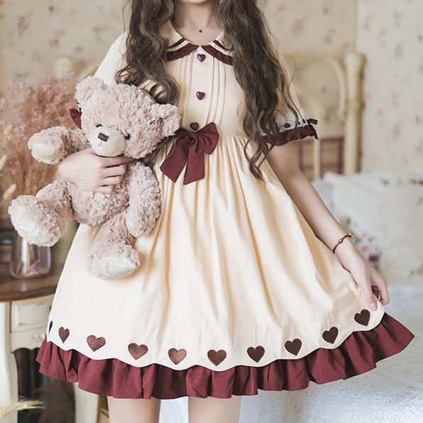 Ruffle Heart Lolita Dress SD00823
