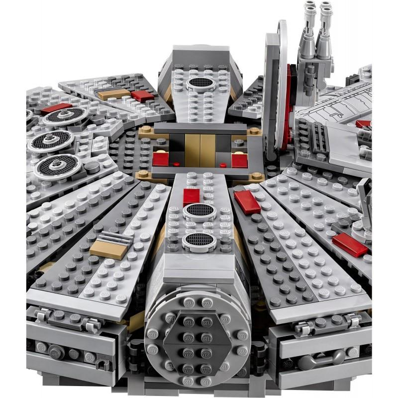 Compatible Legoinglys Star Wars Millennium 05007 Falcon Spacecraft Building Blocks Birthday Gift Toys