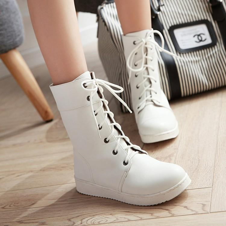 Casual Flat Boots Shoes SD00239