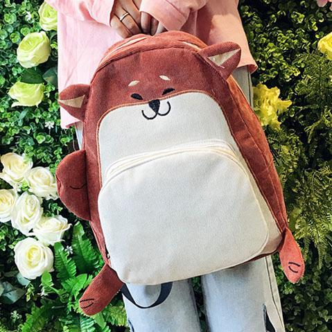 Puppy Dog and Fox School Backpack SD02136
